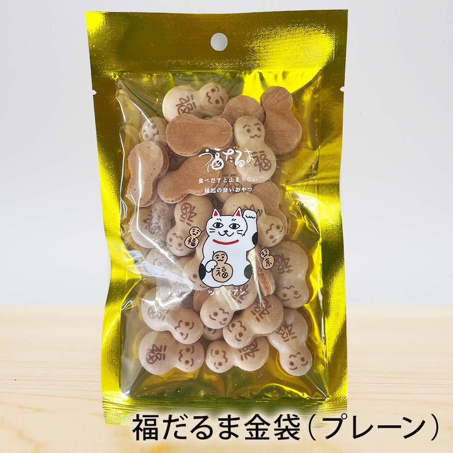 月待庵 京都焼き菓子 福だるま金袋(プレーン)【錦市場,福だるま店】