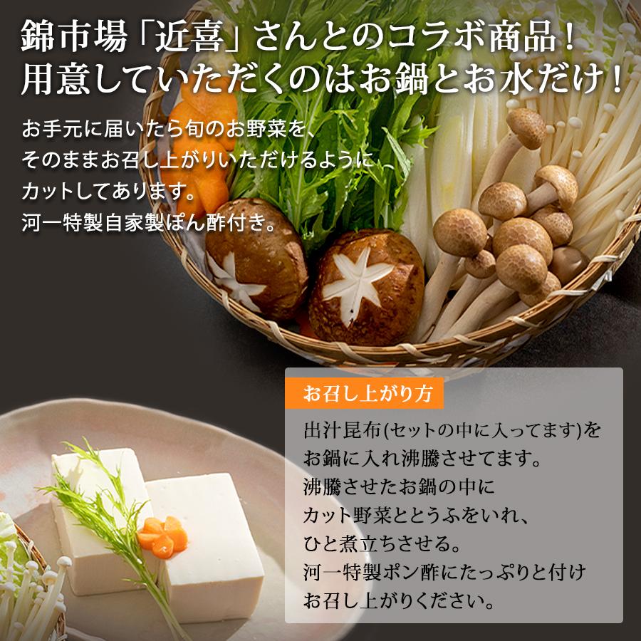 手元に届けばすぐ食べる湯とうふセット 錦市場【河一商店】