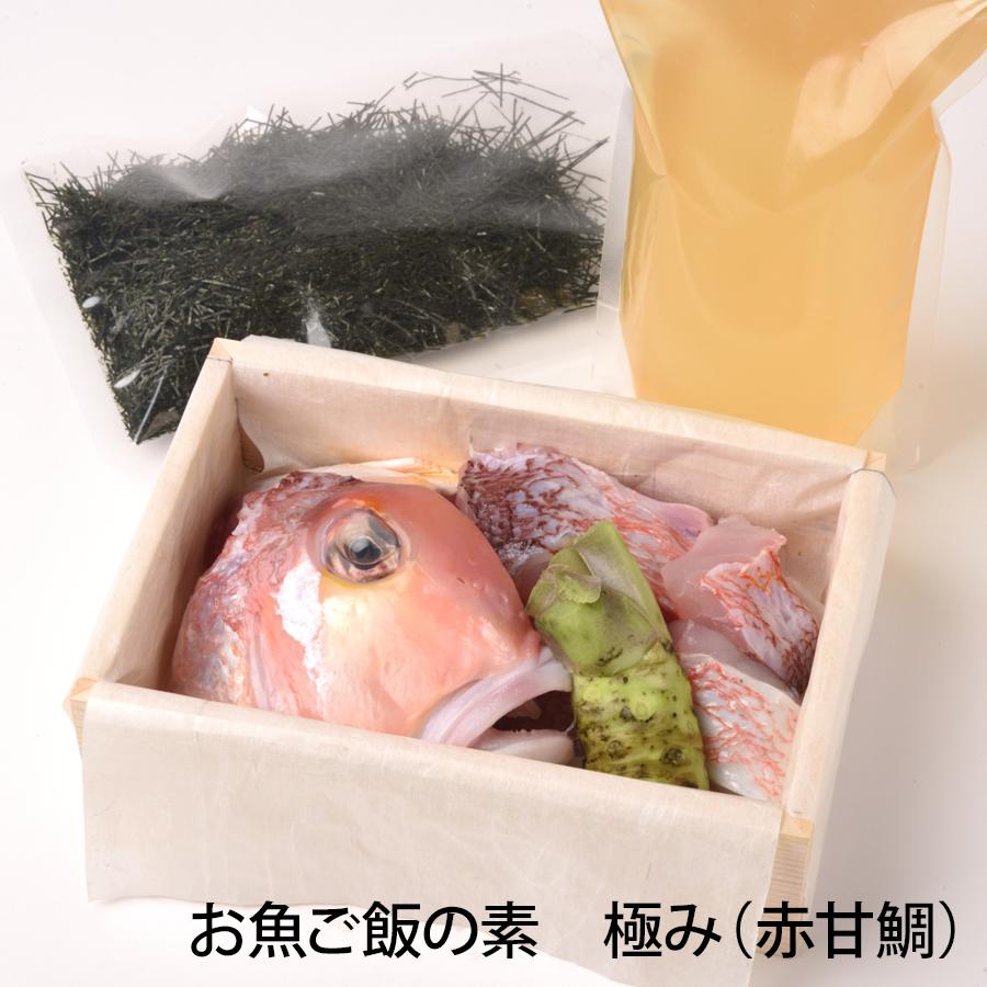 お魚ご飯 極み(赤甘鯛)【株式会社丸弥太】