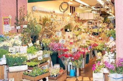 """錦 花つね・""""世界で一番お花を安く販売する店""""をめざすお店"""